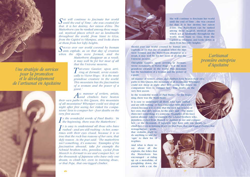 Lhoumeau magazine de liaison for Chambre des metiers montelimar